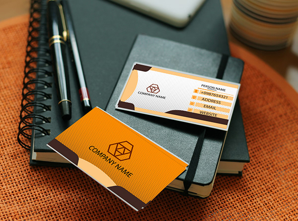 A unique Business card design for a renewed company