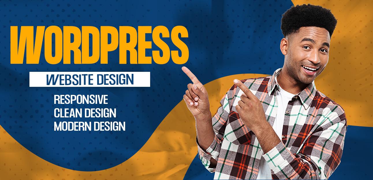 I will develop responsive wordpress website