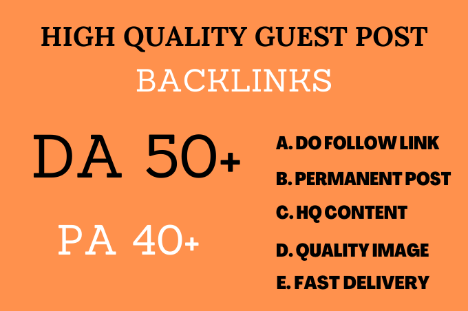 I will do guest post in da 50 blogs