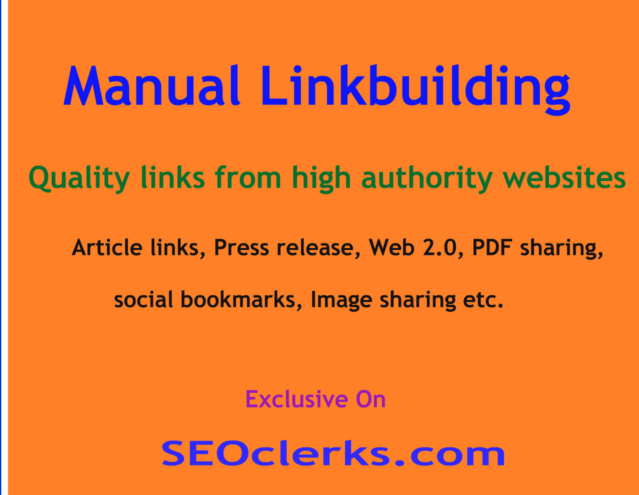 Instant,  25 Live Social Bookmarking Links within 24 hours