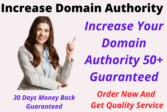 Increase Moz DA0 to DA50+ of your any website spam free method & Google update safe