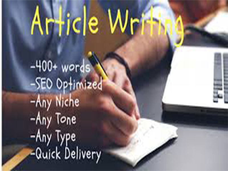 Write an Article Of 400 Words On any Topic