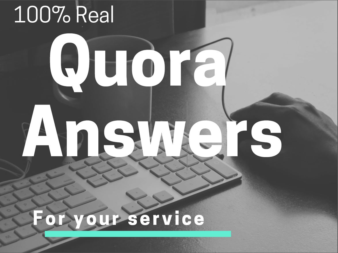Posting 15 Quora answers with the best quality for your website