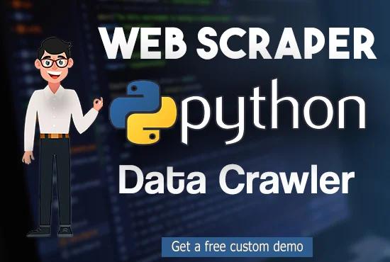 I will scrape website, web scraping and data mining scraper
