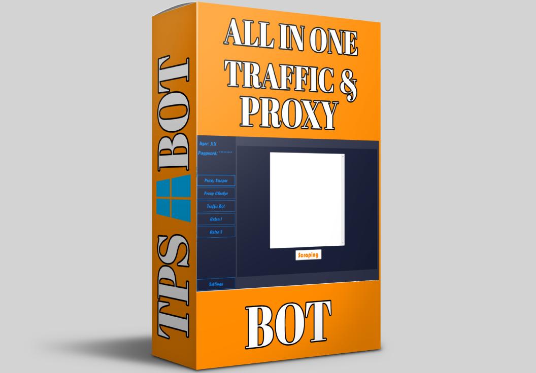 All in one Software Traffic Bot / Proxy Scraper / Proxy Checker