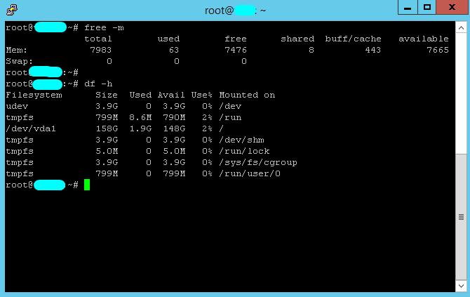 Linux VPS 8GB RAM , 160SSD , 4vCPU