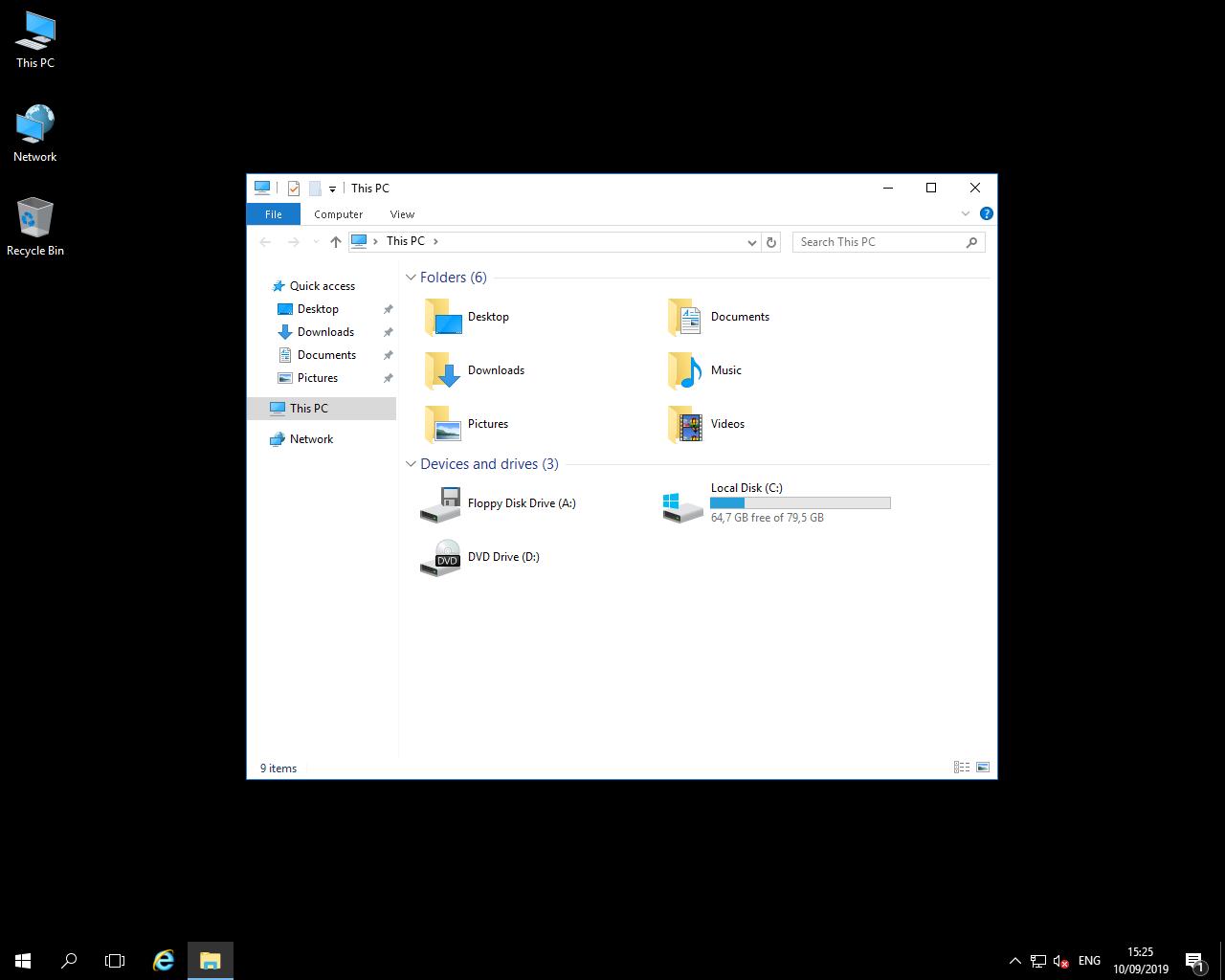 Windows VPS 4GB RAM , 80SSD , 2vCPU