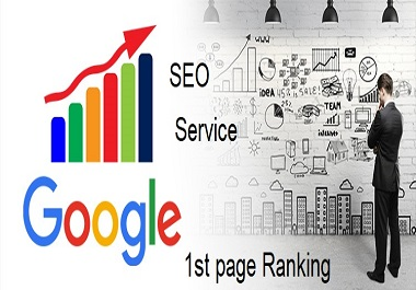 I will provide a full SEO service for Google 1st page ranking