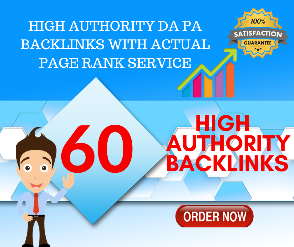 i will provide 60 high authority dofollow blog comment backlinks