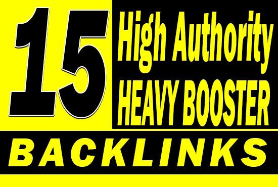 Do 15 Heavy Booster PBN Backlinks High DA PA TF CF