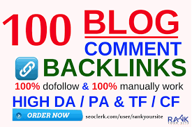 build 100 Dofollow Blog Comments Backlinks High Quality,  General Sites