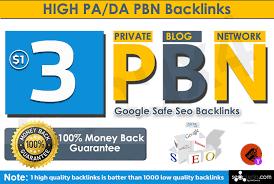 Provide 3 Manual High TF CF DA PA 30 to 10 Dofollow PBN Backlink