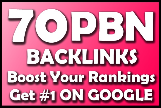 Provide 70 PBN LInks to Boost your Ranking