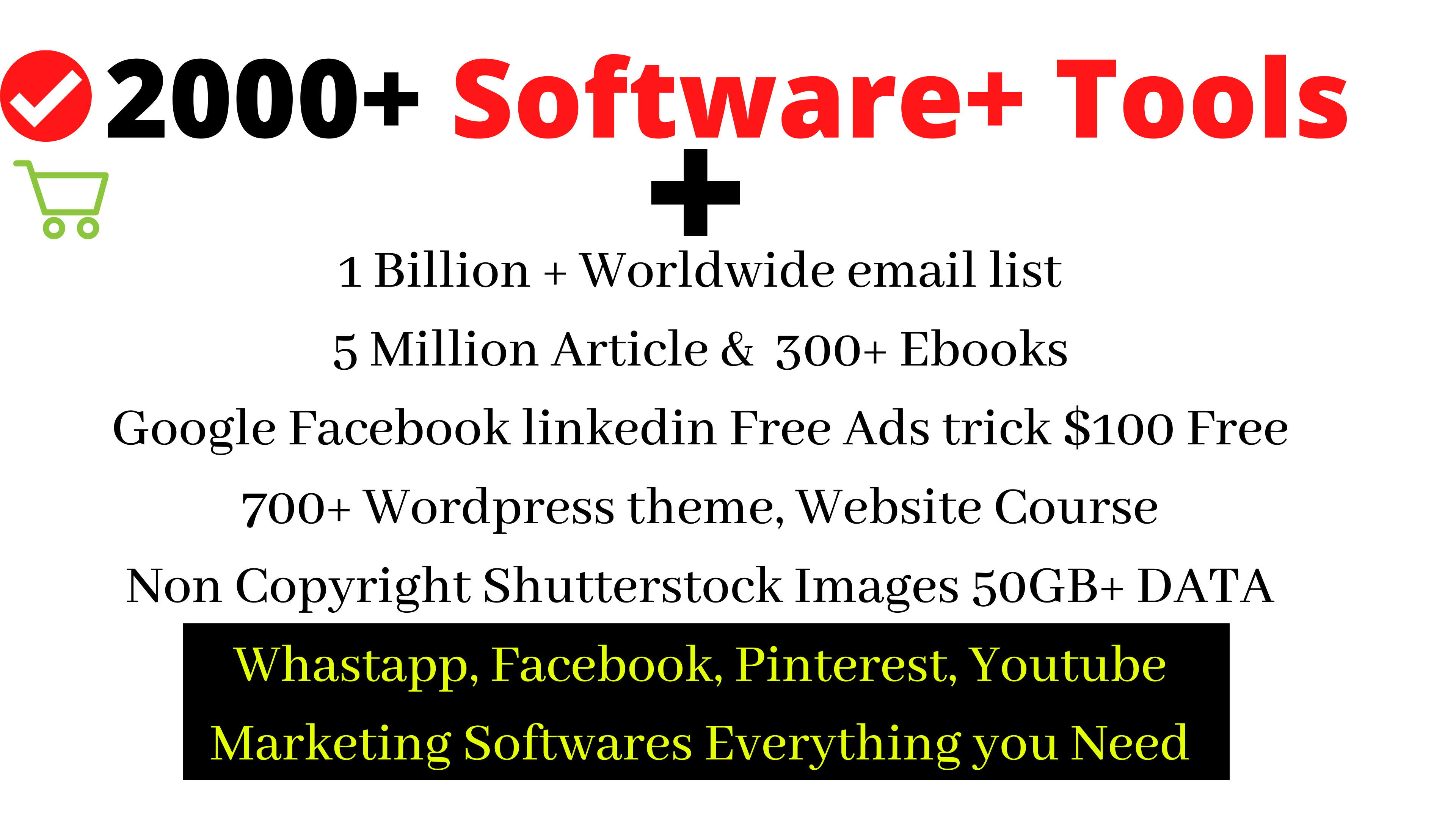 2000+ Software Marketing Tools Emails Images Everything You Need