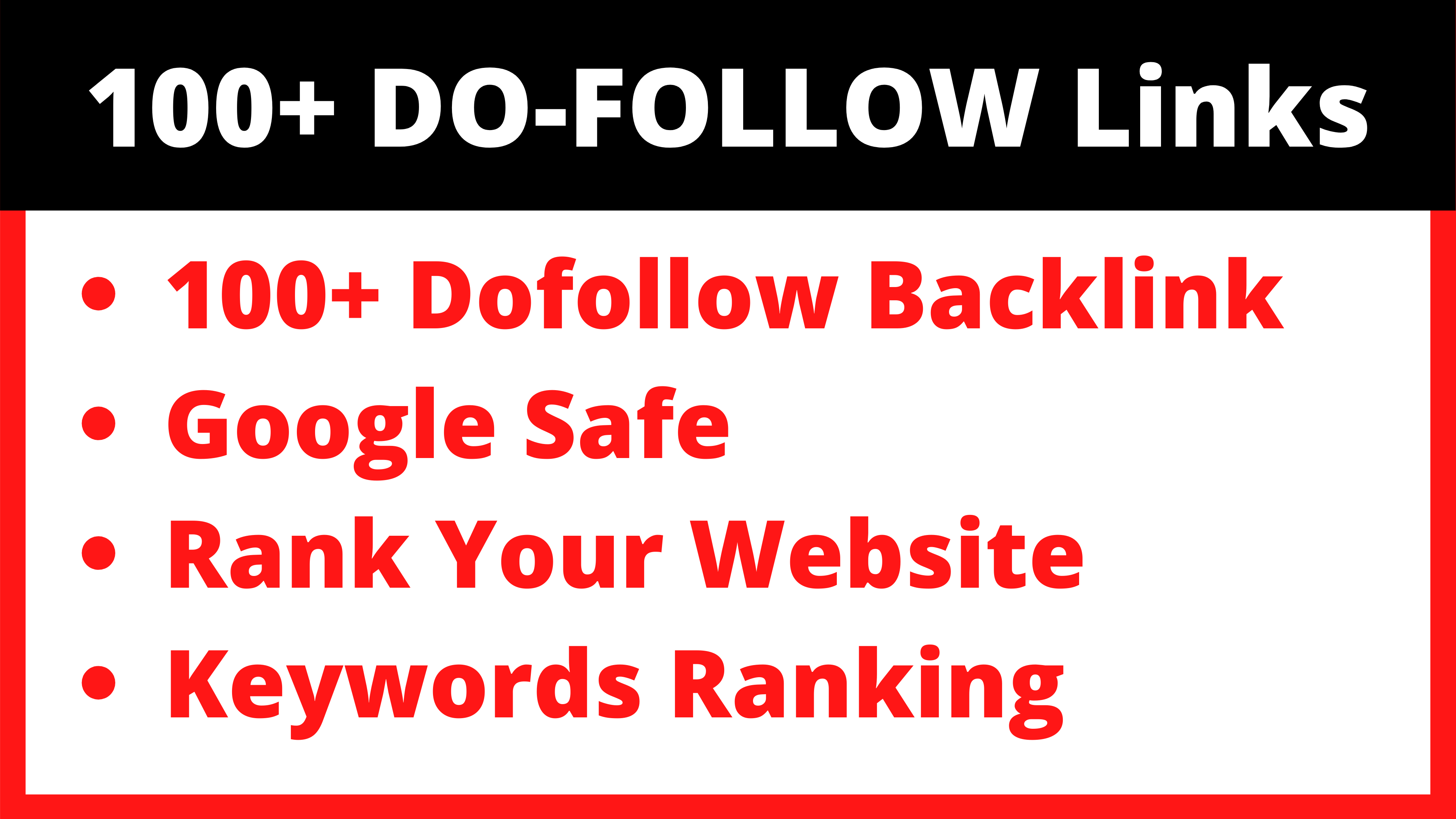 100+ DoFollow Backlinks Cheap Price Limited Time Offer SEO Backlinks