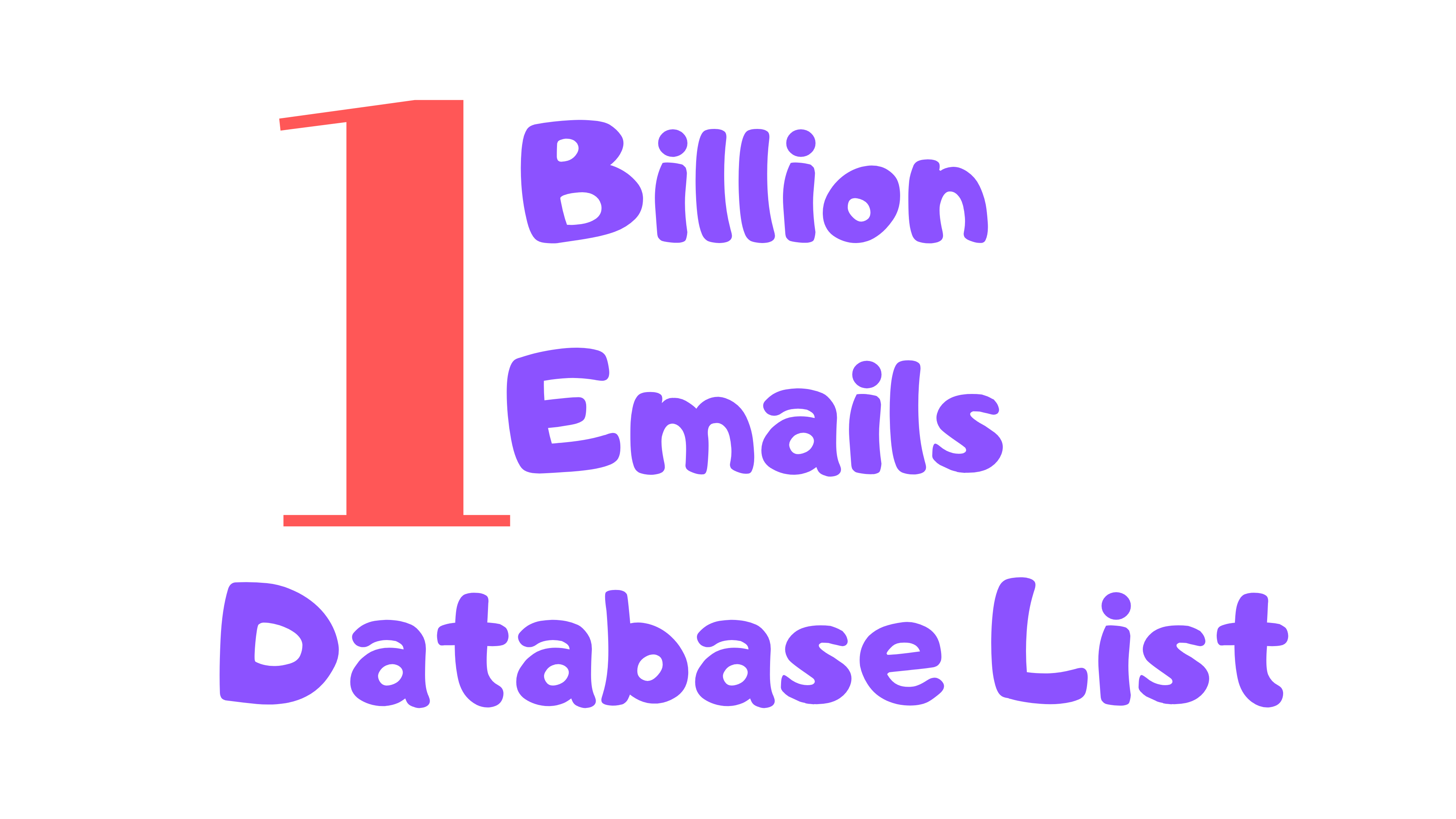 Limited time offer 1 billion worldwide email database list at cheap price