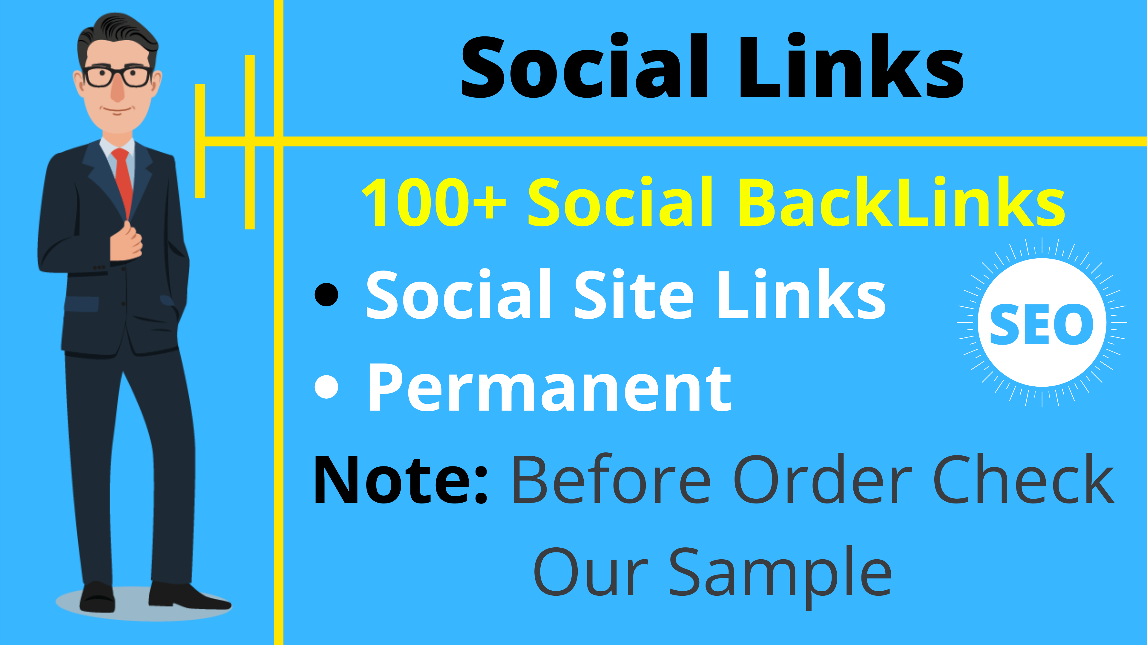 100+ Different Social Profile Backlinks SEO Links Cheap Price