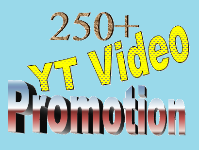 Manually 250+ Video Rank for your video Business