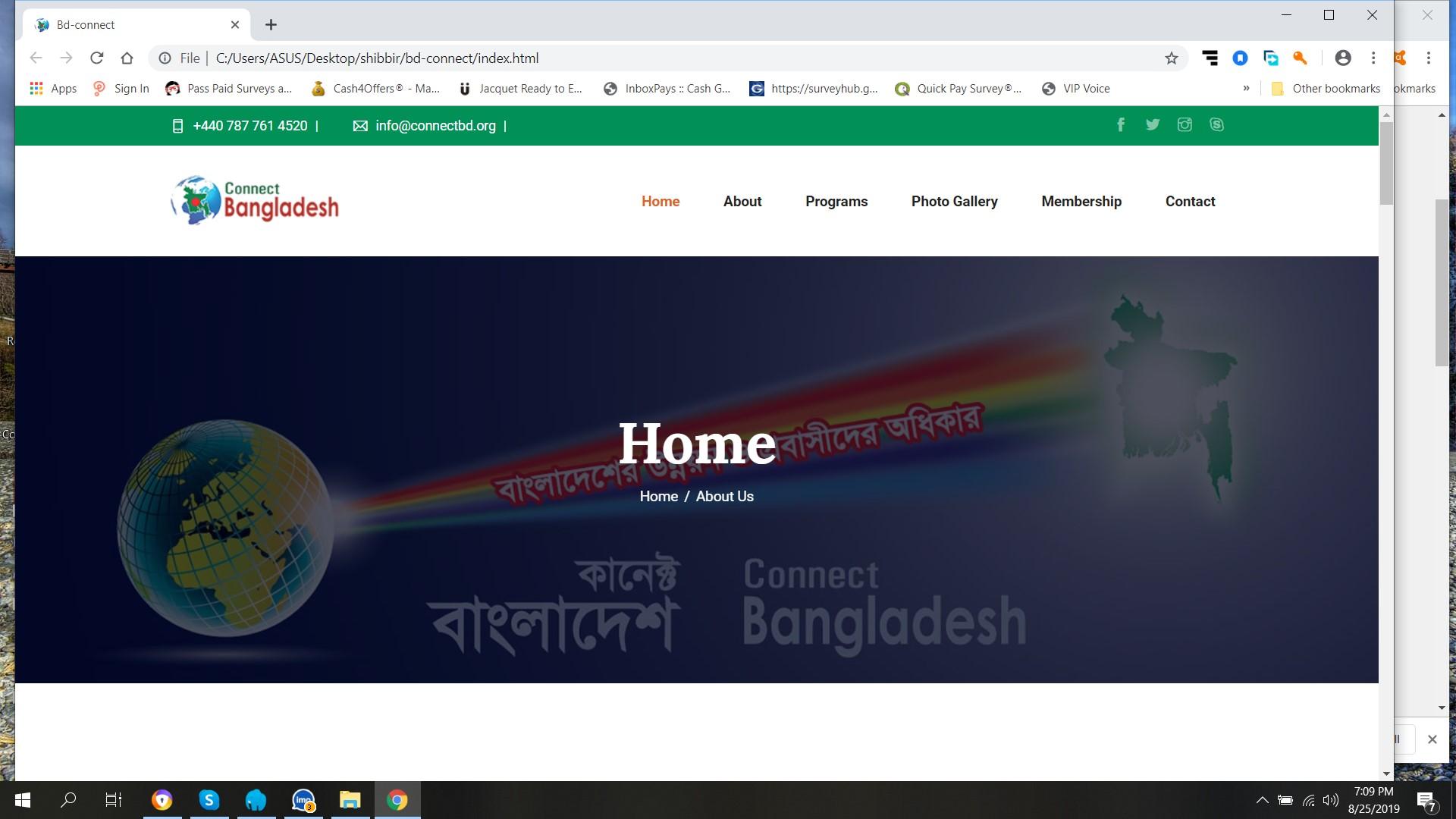 Unique Web Design in Very Low Price