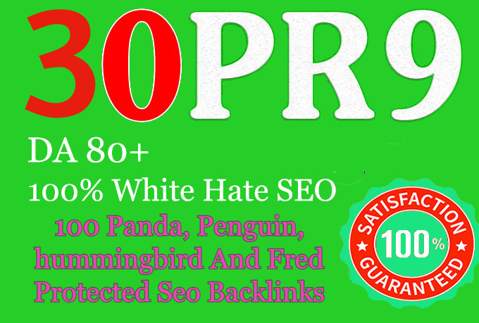 Manually do 30 PR9 High SEO Authority Profile Backlinks - Skyrocket your Google RANKINGS