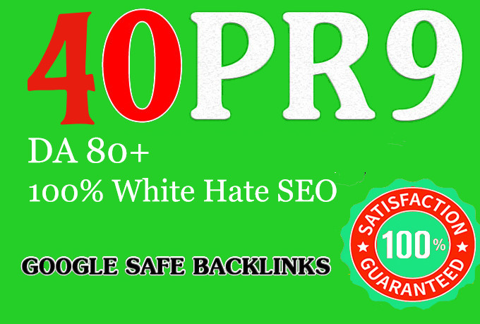 Limited time 40 Pr9 High SEO Authority Backlinks - Fire Your Google Ranking