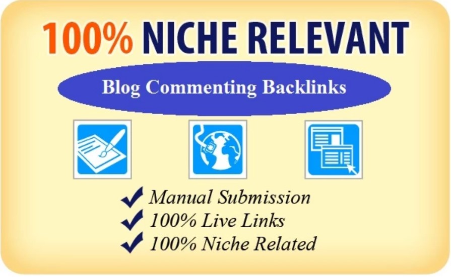Do 100 Niche Manual Themed Blog Commenting