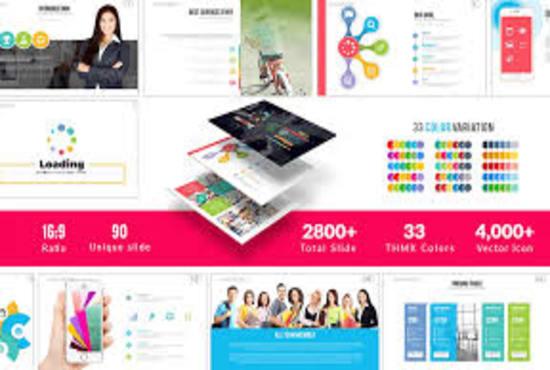 Provide 10 000 plus business power point slides templates