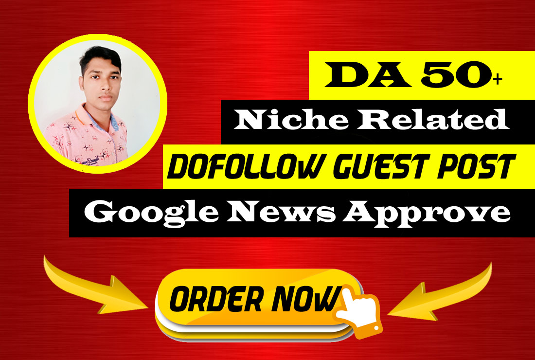 publish a niche dof0llow guest post on google news site