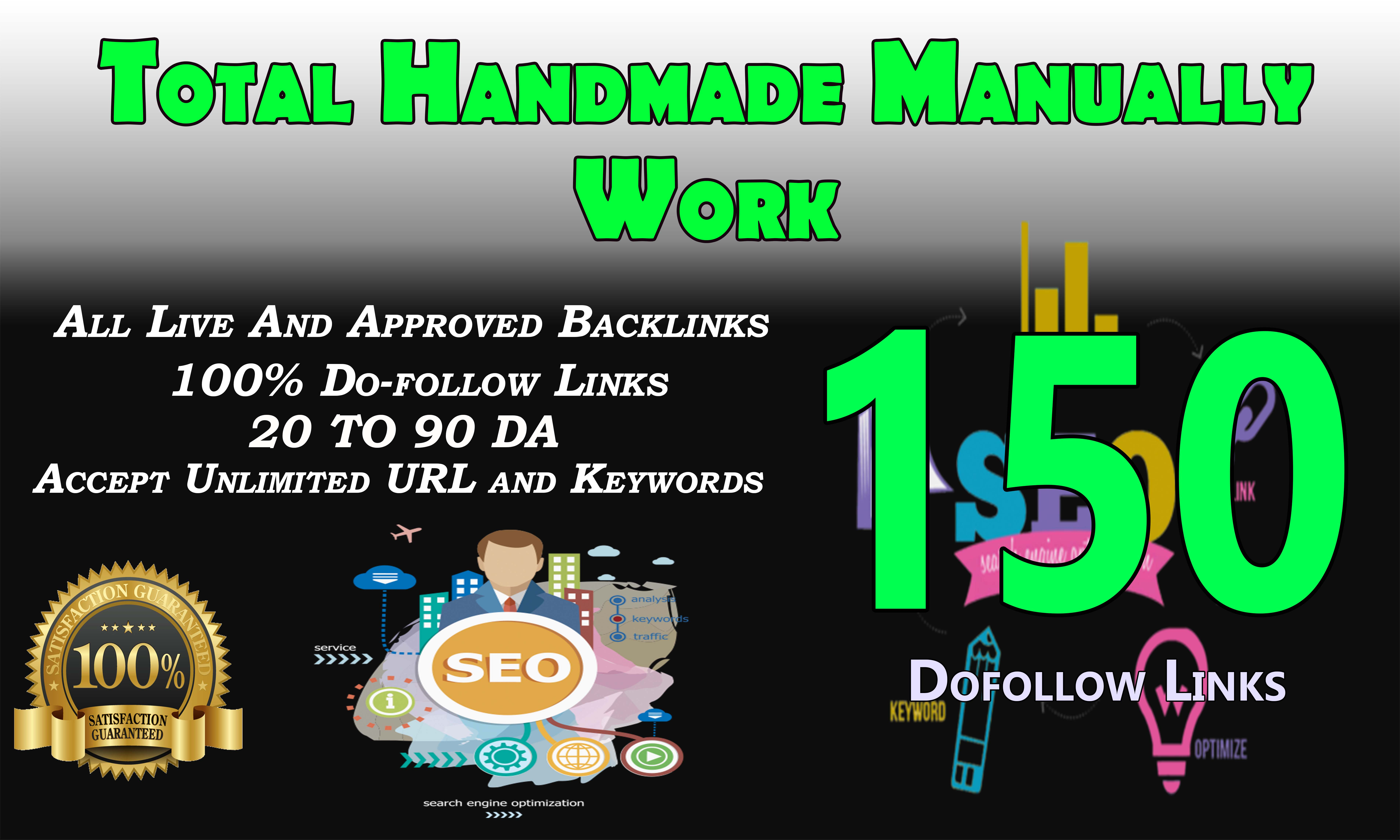 i will Create 150 manually dofollow blog comment backlinks