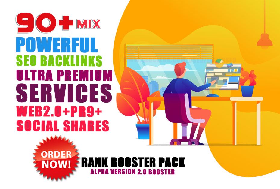 BOOST YOUR RANK With 50 PR9 Da 90+ 20 Web 2.0 and 20 Social Shares