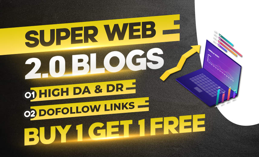 create manually 10 web 2.0 with 70 PR9 blog contextual backlinks with login