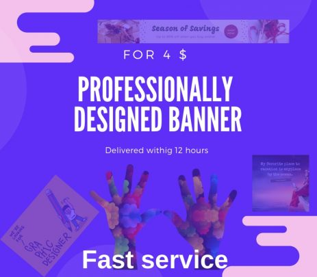 Professionally Designed Banner for 1 in 12 Hours
