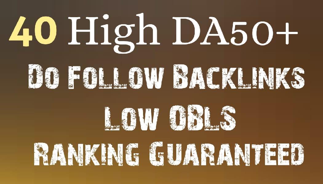 High DA50+ Do-Follow Blog Comments Manually Hand Written low obls