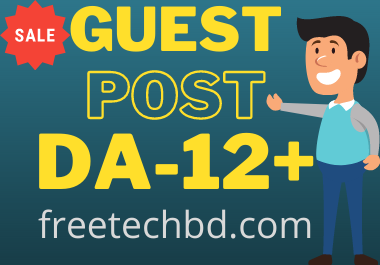 Publish guest post article on Free Tech BD