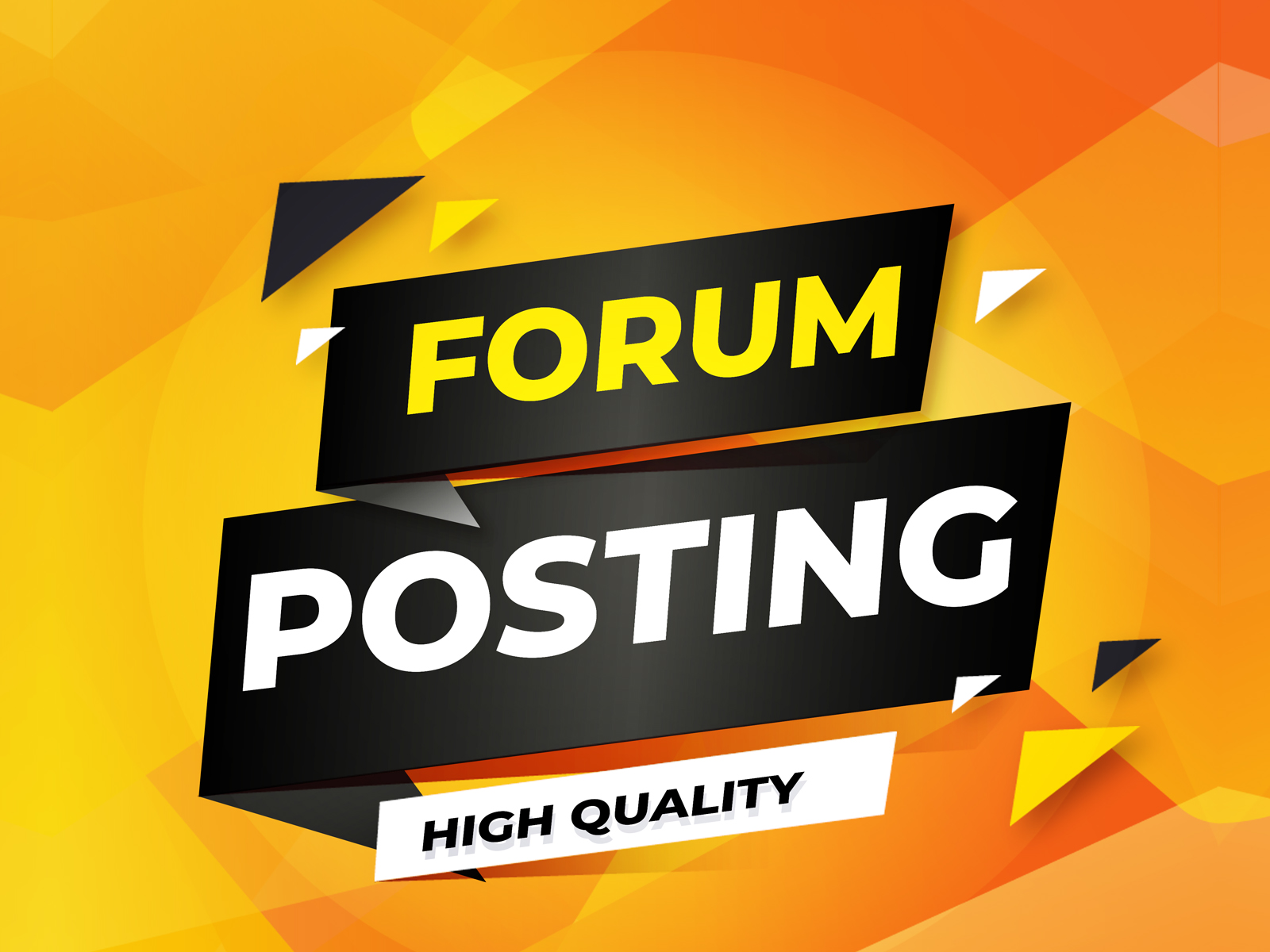 Do Manually 40+ Unique HQ Forum Posting SEO Backlinks for Google Ranking