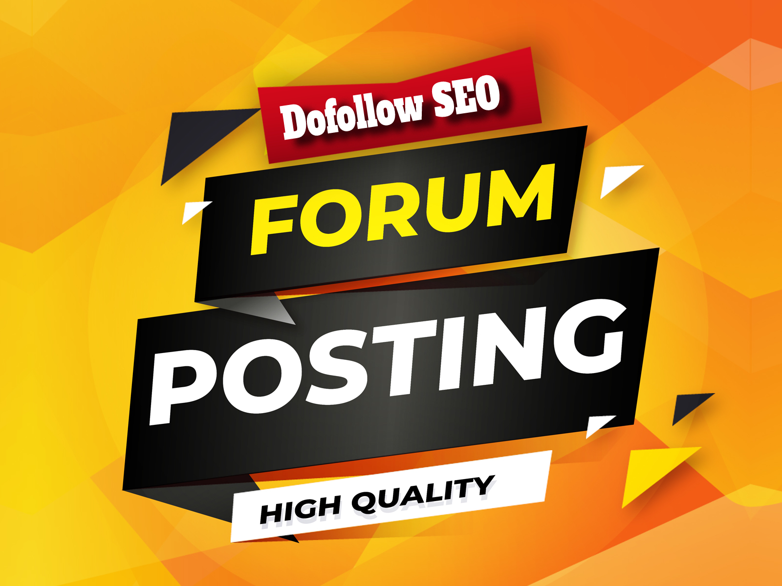 Do Manually 50+ Unique HQ Forum Posting SEO Backlinks for Google Ranking