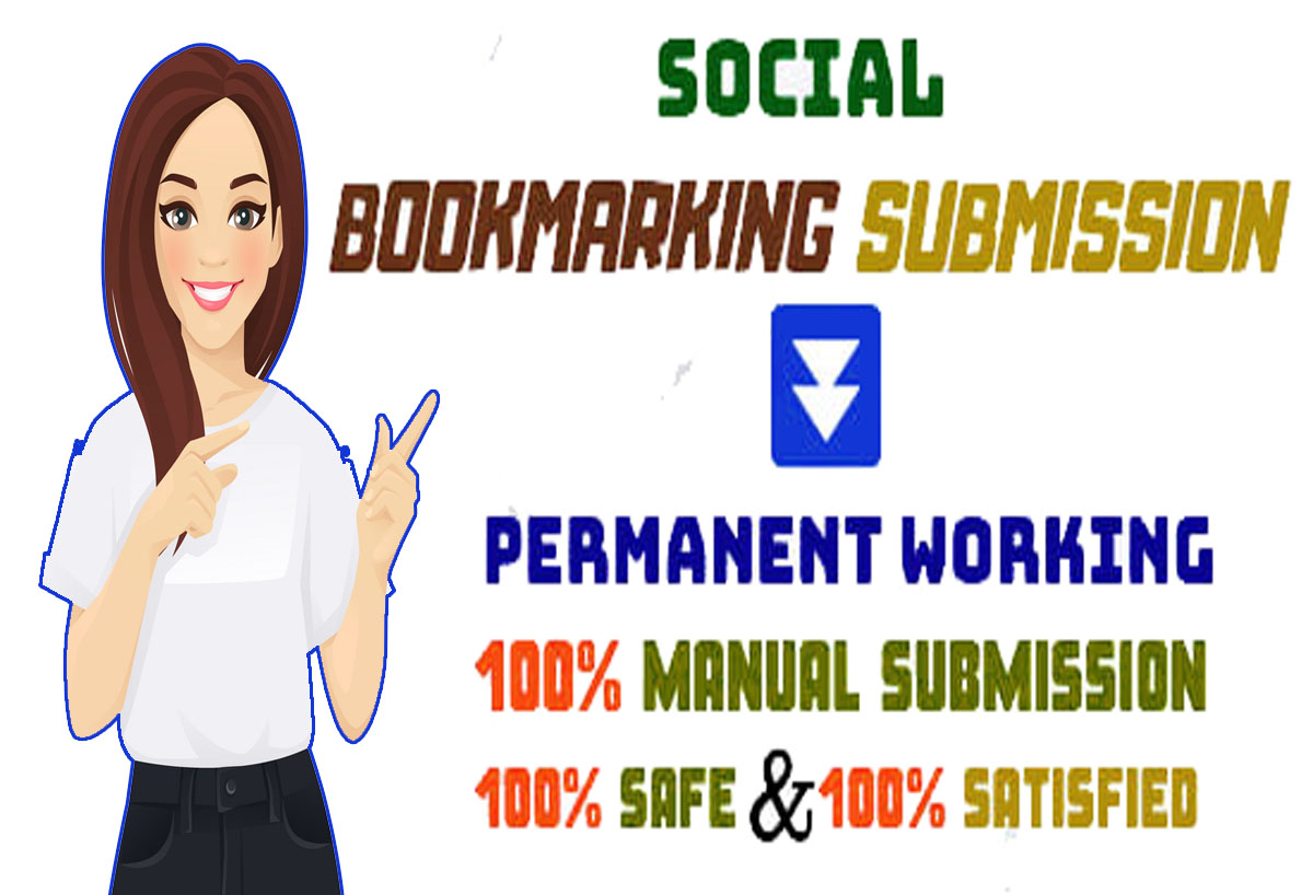 i will create 20 Social Bookmarking Submission for any website