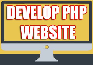 I Will Develop any Website of your choice