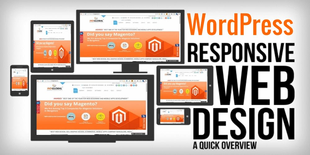 I will do responsive SEO friendly wordpress website design