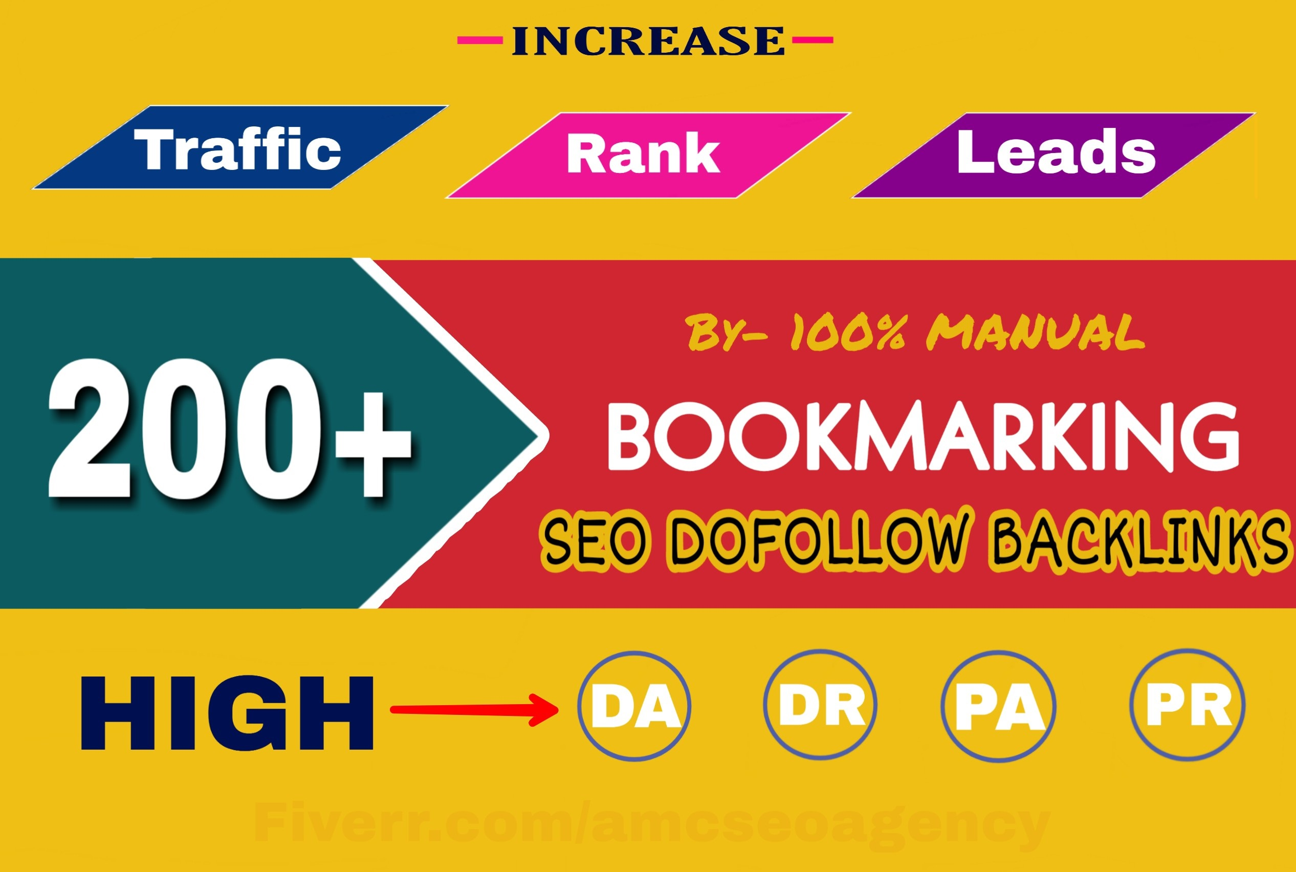 Build manually 200 quality bookmark submission SEO backlink for Google ranking