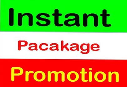 Instant package promotion from real USA user