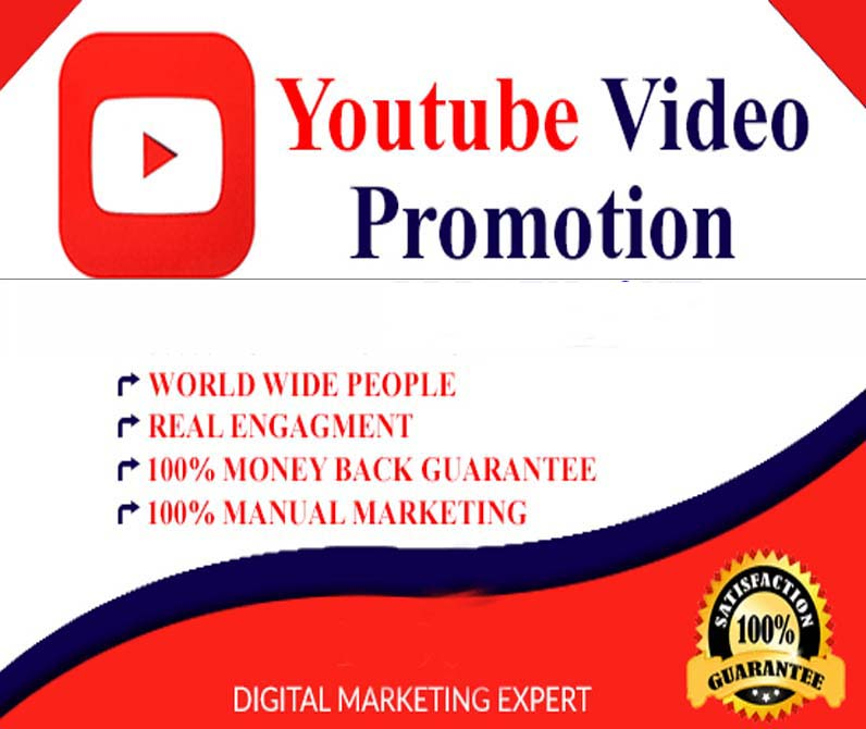 manually social media video promotion super fast delivery from cheap amount