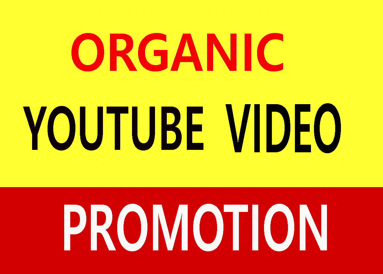 YouTube video promotion world wide users