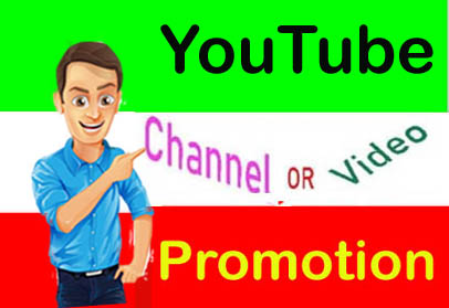 SUPER FAST YOUTUBE CHANEL OR VIDEO PROMOTION FROM REAL USER