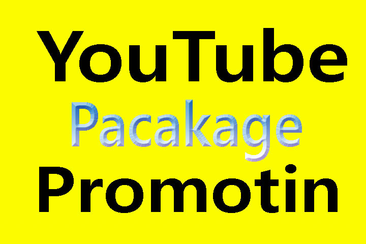 Super fast HQ YouTube package promotion from real user