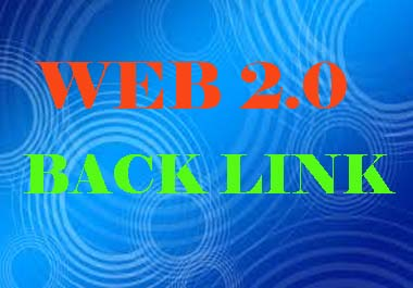 web2.0 High DA PA Backlinks Almost all links are Dofollow