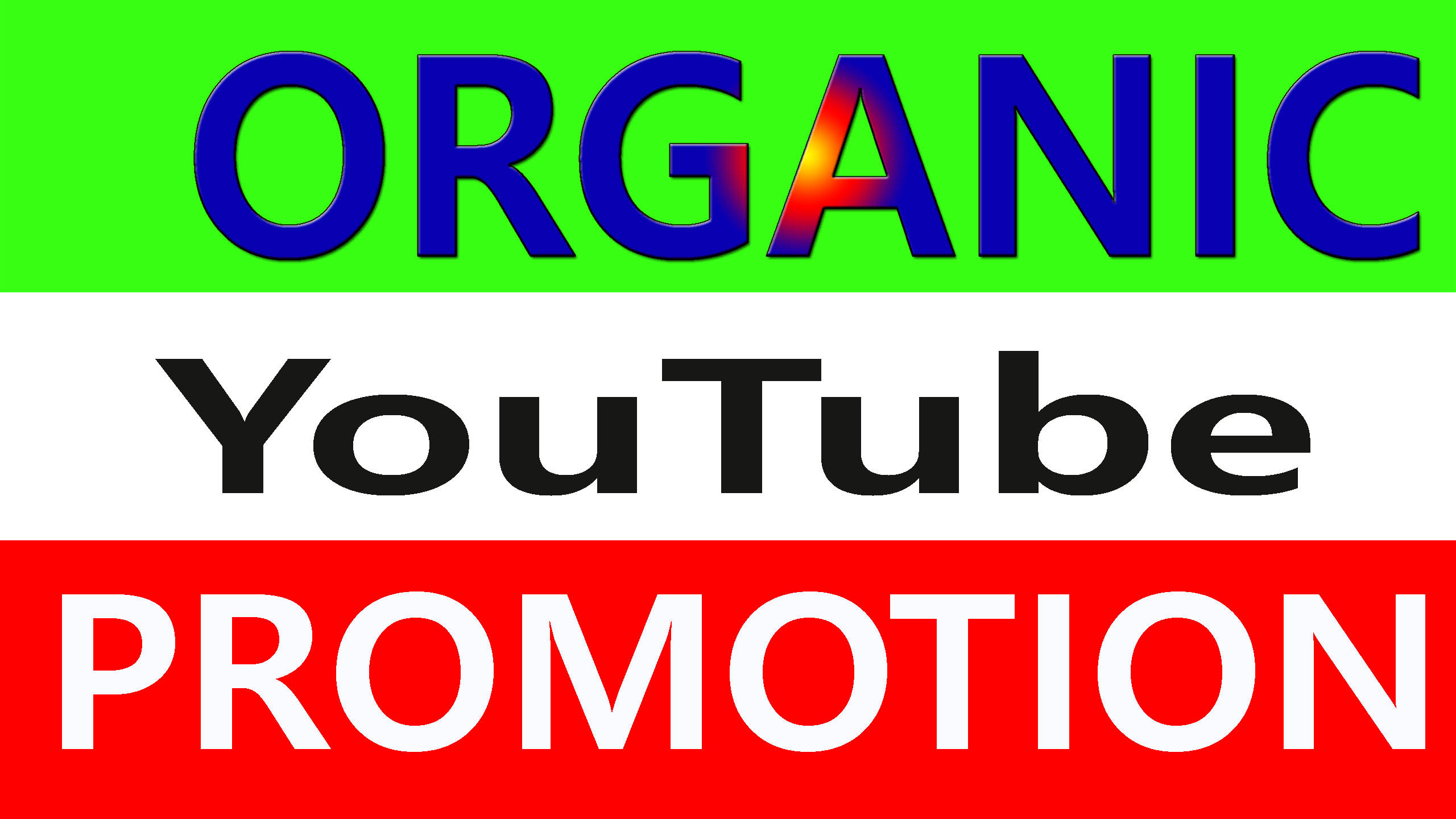 Super Fast High Quality YouTube Video and Chanel Promotion from real user