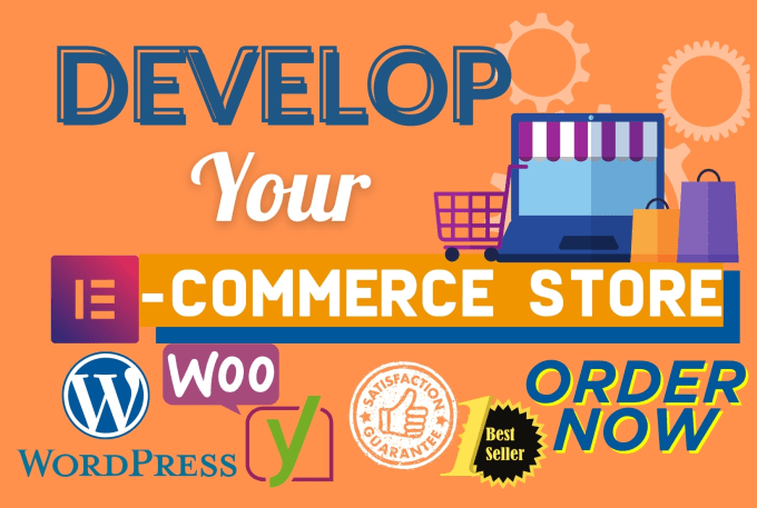 Create your ecommerce website or store with woocommerce