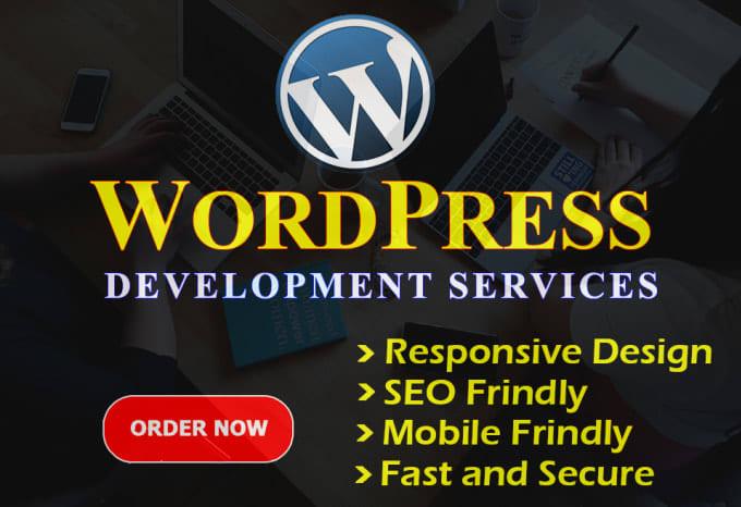 Create a Professional Wordpress Website or Divi Wordpress Website
