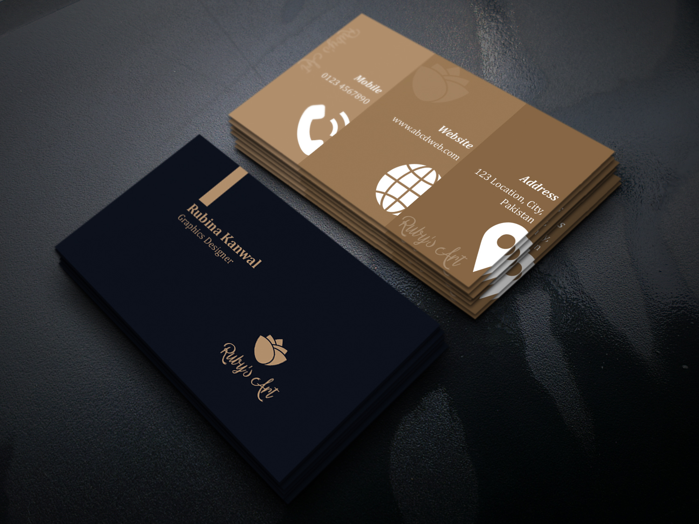 Business Card Design - Clean,  Minimal,  Professional